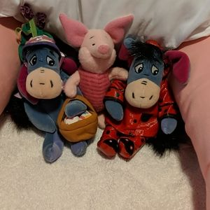 Disney Other - Eeorye and Piglet Trio